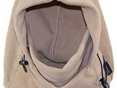 Elysiumland Adult Winter Soft Fleece Tactical Hood Balaclava (One Size) - Khaki