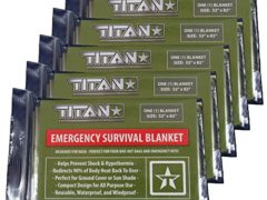 Military Green | Designed for Space Exploration. Thermal Blankets are