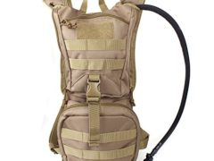 Tactical Hydration Pack Backpacks with 2.5L Bladder for Hiking, Biking,