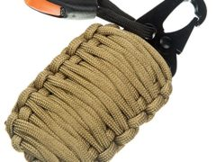 Paracord Grenade Suvival Kit - 18 IN 1 Tactical Gear - Fishing Bag with 550