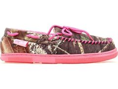 M & F Western Women's Blazin Roxx Camouflage Print Accent Moccasins Camouflage Large US