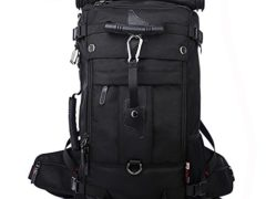 KAKA Tactical Backpack Travel backpack for 17 inch Laptop Black