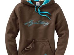 Legendary Whitetails Womens Heartbeat Hoodie Brown Small
