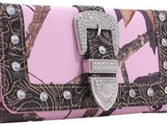 Emperia Women's Julia Mossy Oak Ladies Tri-Folded Buckle Wallet with