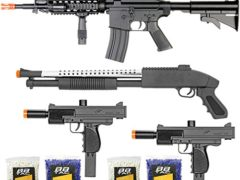 BBTac Airsoft Gun Package - The Operator - Collection of 4 Airsoft Guns