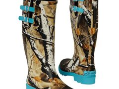 Legendary Whitetails Women's Big Game Camo Storm Chaser Rain Boots Glacier 7