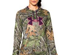 Under Armour Women's Armour Fleece Camo Big Logo Hoodie, Mossy Oak Obsession (940), Medium