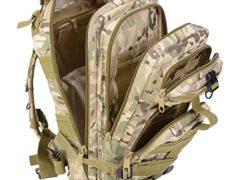 Waterproof Hiking Bag,Spider-BX(TM)Military Camping Bag Oxford