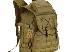 Protector Plus Tactical MOLLE Assault Backpack Pack Military Gear Rucksack