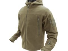 Condor Seirra Hooded Fleece Jacket - Medium - Tan