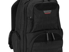 PROPPER Expandable Nylon Backpack, Black, ONE SIZE