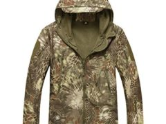 Reebow Gear Men's Military Special Ops Softshell Tactical Jacket