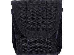 Black Heavy Nylon Police Duty Gear Standard Handcuff Case