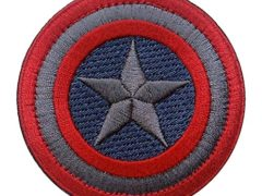 Hook Subdued Captain America Shield Tactical Morale Patch by Titan one