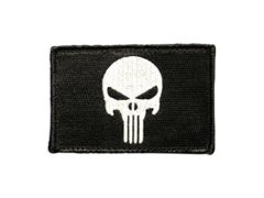 Punisher Skull Tactical Patch by Morale Patch Armory | Premium Embroidered Vigilante Hero