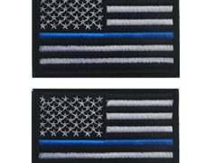 American Flag US United States of America Military Velcro Morale Patches-2 pieces