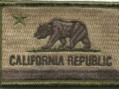 California Tactical Patch - Multitan