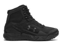 Under Armour Men's Valsetz RTS Tactical Boots, Black/Black, 10.5