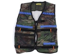 Yosoo Kids Elite Tactical Vest for EVA Nerf Gun N-strike Elite Series (Camouflage)