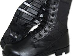 G.I. COMBAT Jungle Boot, Men in Black Size 10