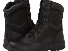 KS Men's Side Zip Work Boots 10 D(M) US, 1587BLK