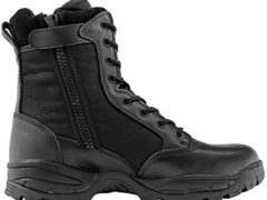 Maelstrom Women's TAC FORCE 8 Inch Military Tactical Duty Work Boot with Zipper, Black, 8.5 M US