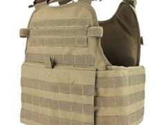 Condor Outdoor MOPC Gear Vest LBE Tactical Molle (Tan)