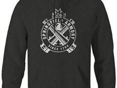 Springfield Armory Since 1794 Cannons Firearms Sweatshirt - Xlarge
