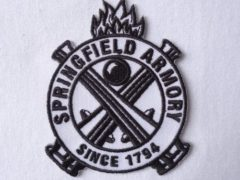 Springfield Armory Gun Rifle Us Firearms Military Biker [3 Inches] Patch